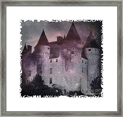Castle Of Terror Framed Print