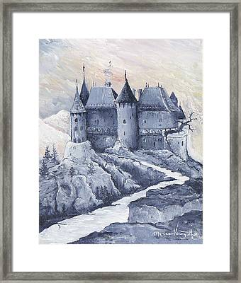Castle Of The Carpathians Framed Print