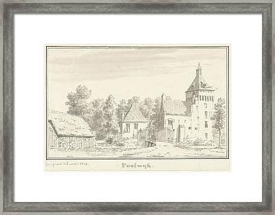 Castle Poelwijk Gendt, Gelderland The Netherlands Framed Print