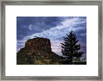 Castle Rock Framed Print by Juli Scalzi