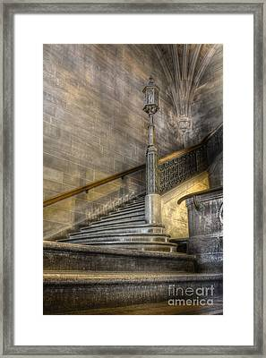 Castle Stairs Framed Print by Margie Hurwich