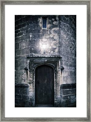 Castle Tower Framed Print by Joana Kruse