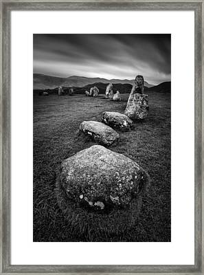 Castlerigg Stone Circle Framed Print by Dave Bowman