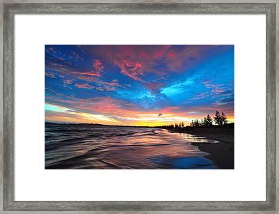Castletown Beach Framed Print by Sally Nevin