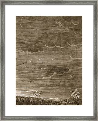 Castor And Pollux, 1731 Framed Print by Bernard Picart