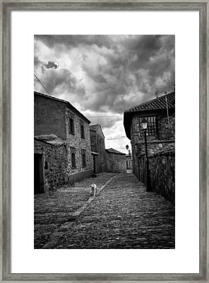 Castrillo De Los Polvazares Framed Print by Tom Bell