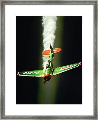 Castrol Framed Print by Paul Job