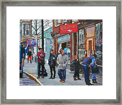 Casual Observer Framed Print by Kenneth Young