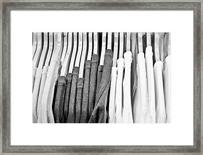 Casual Tops Framed Print by Tom Gowanlock
