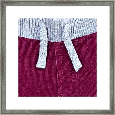 Casual Trousers Framed Print by Tom Gowanlock
