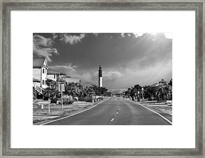 Caswell Drive Framed Print