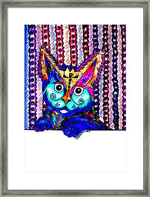 Cat 1 Framed Print