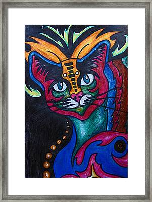 Cat 2 Framed Print