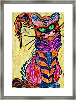 Cat 3 Framed Print