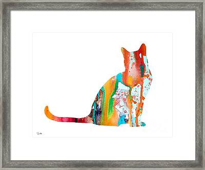 Cat 3 Framed Print by Luke and Slavi