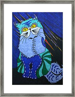 Cat 4 Framed Print