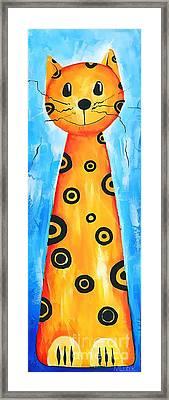 Cat 649 - Marucii Framed Print by Marek Lutek