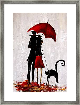 Cat 726 Framed Print