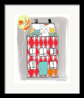 Animal Shelter Framed Prints
