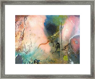 Cat In The Cosmos Framed Print