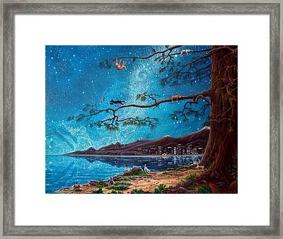 Cat Island Framed Print