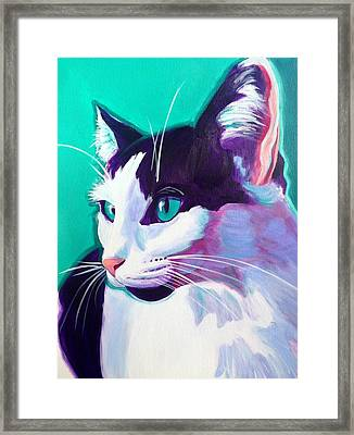 Cat - Kitty Framed Print by Alicia VanNoy Call