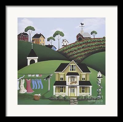 Primitive Country Framed Prints