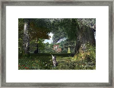 Cat Tree Framed Print