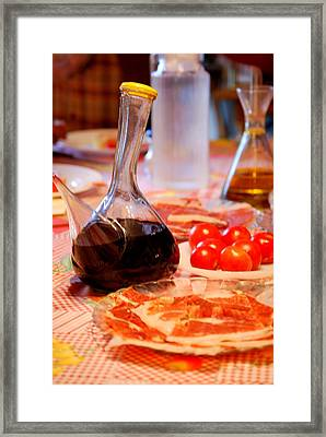 Catalain Food Framed Print