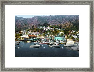 Catalina Express  View Framed Print by Joseph Hollingsworth
