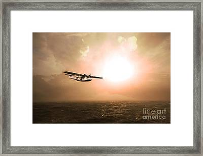 Catalina Sunrise Framed Print by J Biggadike