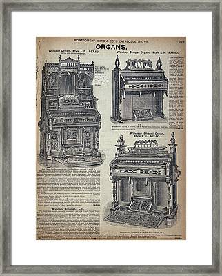 Catalogue Page, C1900 Framed Print by Granger