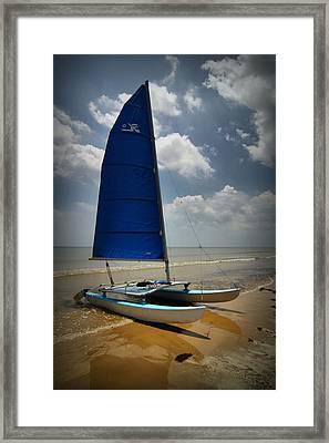 Catamaran Framed Print