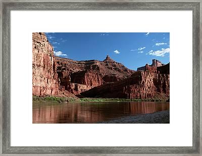 Cataract Canyon Framed Print