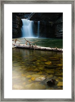 Cataract Falls Framed Print