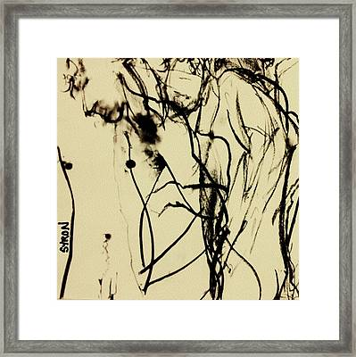 Catastrophe Framed Print