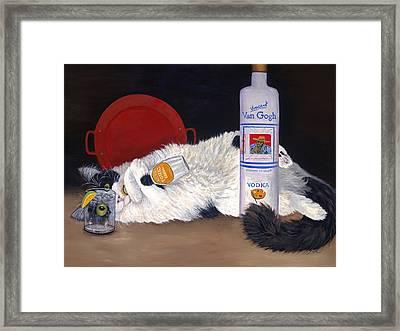 Catatonic Framed Print by Karen Zuk Rosenblatt