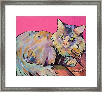 Catatonic Framed Print by Pat Saunders-White