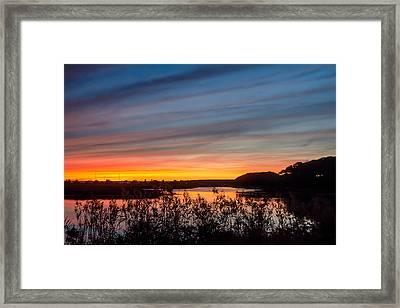 Cataumet Sunset Framed Print