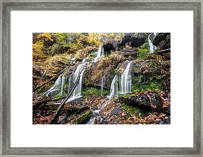 Catawba Falls Framed Print by Scott Moore