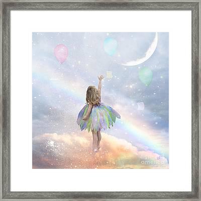 Catch A Dream Framed Print