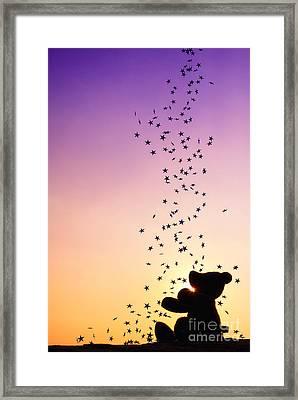 Catch A Falling Star Framed Print by Tim Gainey