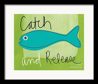 Catch And Release Framed Prints