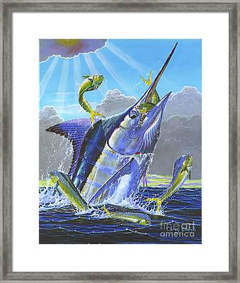 Catch Em Up Off0029 Framed Print by Carey Chen