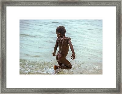 Catch Me If You Can Framed Print by Jola Martysz