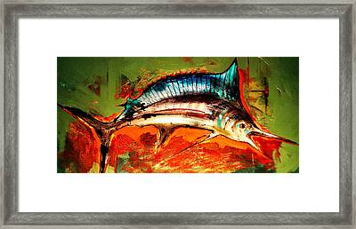 Catch Of The Day Framed Print by Andrew Hewkin