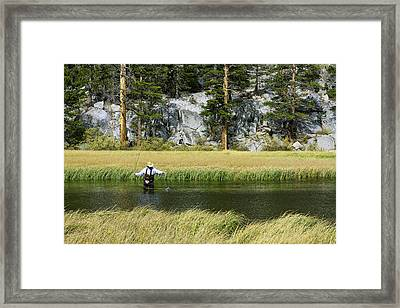 Catch Of The Day - Eastern Sierra California Framed Print by Ram Vasudev