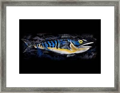 Catch Of The Day Framed Print by Mark Rogan