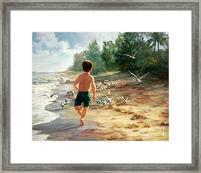 Catch Them If You Can Framed Print