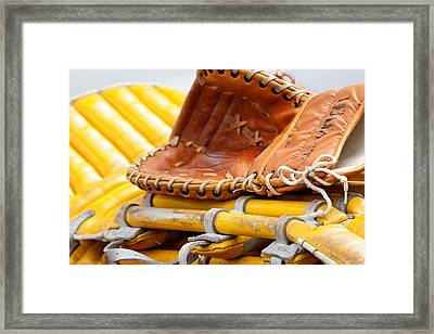 Catcher Framed Print by Art Block Collections
